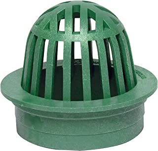 Storm Drain FSD-040-A Plastic Atrium Drain Grate 4-in. - Green