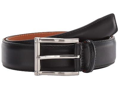 Magnanni Carbon Cognac Belt (Black) Men
