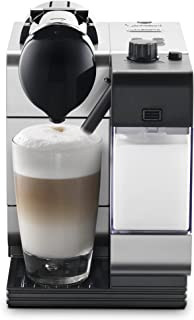 Nespresso by De'Longhi EN520SL Lattissima Plus Espresso and Cappuccino Machine with Nespresso Capsule System, Silver