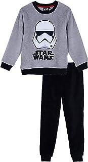 Suncity Pijama coralina Gris Star Wars 100% Poliester 6 años