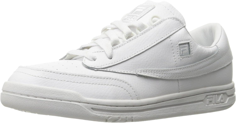 Fila Men's Original Tennis moda sautope da ginnastica, bianca, 12 M US