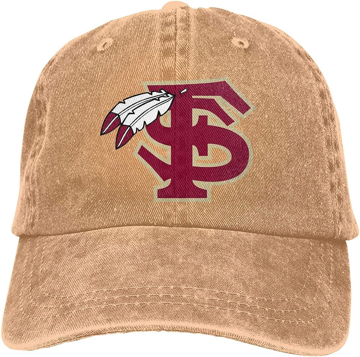 FSU Commemorate Casquette Cap Vintage Adjustable Unisex Baseball Hat