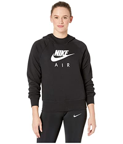 Nike NSW Air Hoodie BB (Black/White) Women