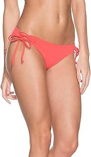 Dahlia Rendezvous Reversible Chi Chi Cut Bikini Bottoms for Women, Red, Large