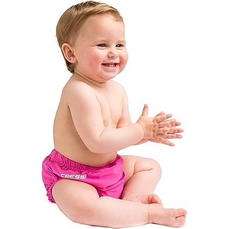 Cressi Sub S.p.A Babaloo Diaper Nappy r/éutilisable pour la mer et la Piscine Mixte Enfant Rose M M 9-12 Mois