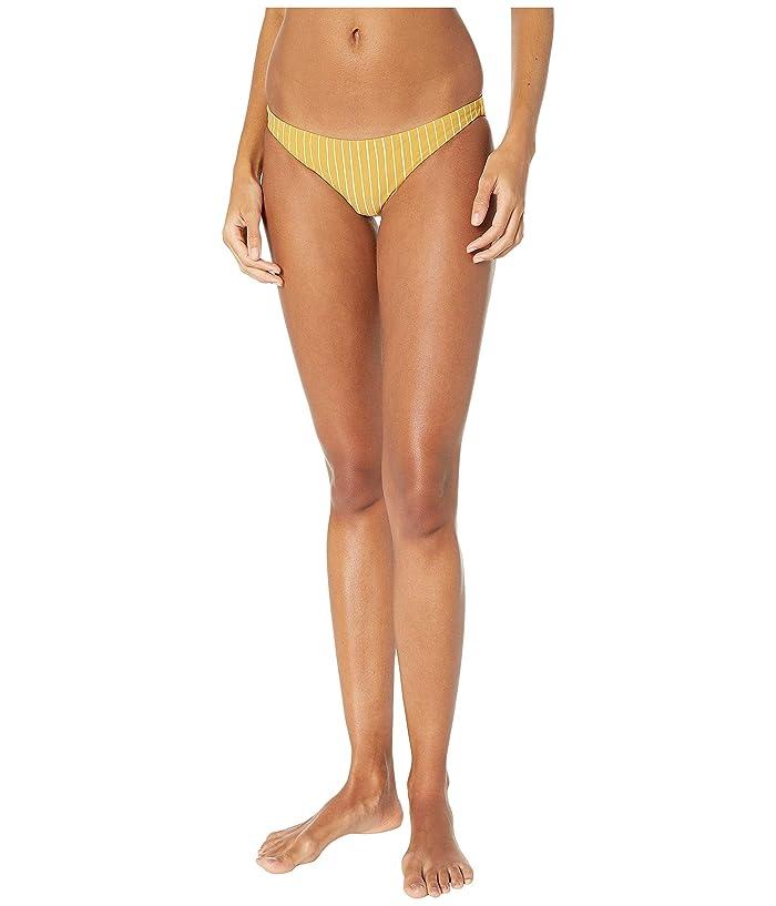 Vitamin A Swimwear Luciana Full Coverage Bottom (Dorada Stripe) Women
