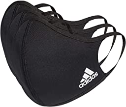 Adidas Face Cover Large, Black (3-Pack)