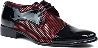 Men New Lace Up Party Wedding Patent Formal Office Shoes UK Size 7-12