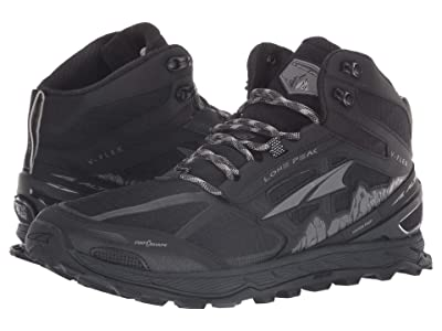 Altra Footwear Lone Peak 4 Mid Mesh (Black) Men
