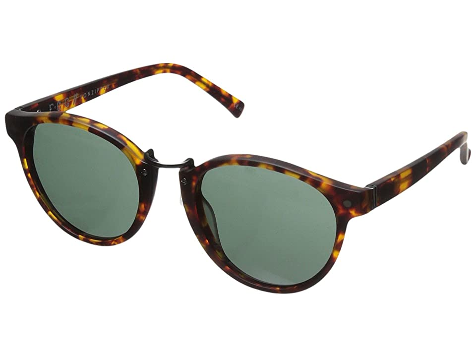 VonZipper Stax (Tortoise Satin) Athletic Performance Sport Sunglasses