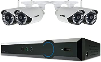 Lorex 4 Channel 720p Surveillance System with 1TB HDD and 4 HD 720p Weatherproof Cameras with 120' Night Vision