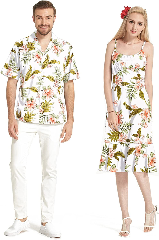 Made in Hawaii At the price of surprise Premium Couple Matching Luau Fl Dress Aloha Shirt Ranking TOP1