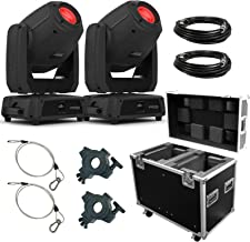 (2) Chauvet DJ Intimidator Spot 475Z Moving Head Spots & Road Case Package