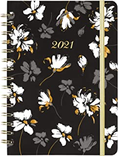 """2021 Planner - Academic Weekly & Monthly Planner, 6.4"""" x 8.5"""", January 2021 - December 2021, Flexible Hardcover with Stron..."""
