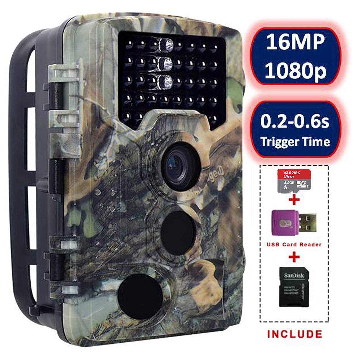 SOVACAM Trail Camera,16MP 1080P 2.4