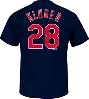 Outerstuff Corey Kluber Cleveland Indians #28 Youth Player Name & Number T-Shirt