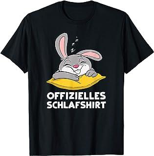 Offizielles Schlafshirt - Hase Schlafanzug Nachthemd T-Shirt