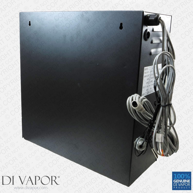 Di Vapor (R) 6 kW Baño de vapor o Kit de ducha | Generador de vapor 220 V | Panel de control: Amazon.es: Bricolaje y herramientas