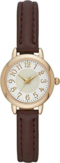 Folio Women's Brown Vegan Leather Watch