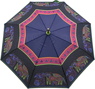Laurel Burch Stick Umbrella Canopy Auto Open, 42-Inch, Dog and Doggies