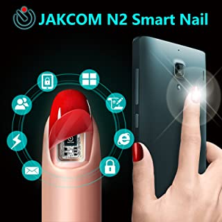 JAKCOM N2 Smart Nail Simulat IC card Connect Phone Flash LED Smart Manicure New Smart Wearable Gadget N2M N2F N2L 3 Types (N2L)