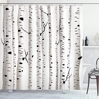 Best shower curtain birch Reviews