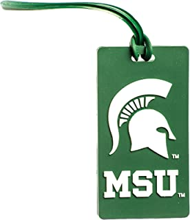 Collegiate Pulse Michigan State Spartans NCAA PVC Luggage TAG