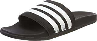 adidas adilette cloudfoam plus stripes slides for women