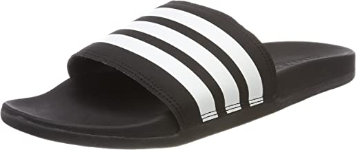 adidas adilette cloudfoam plus stripes slides for women