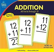 Carson Dellosa | Addition Flash Cards | All Facts through 12, 169ct PDF