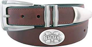 ZEP-PRO NCAA Men's Leather Concho Tapered Tip Belt
