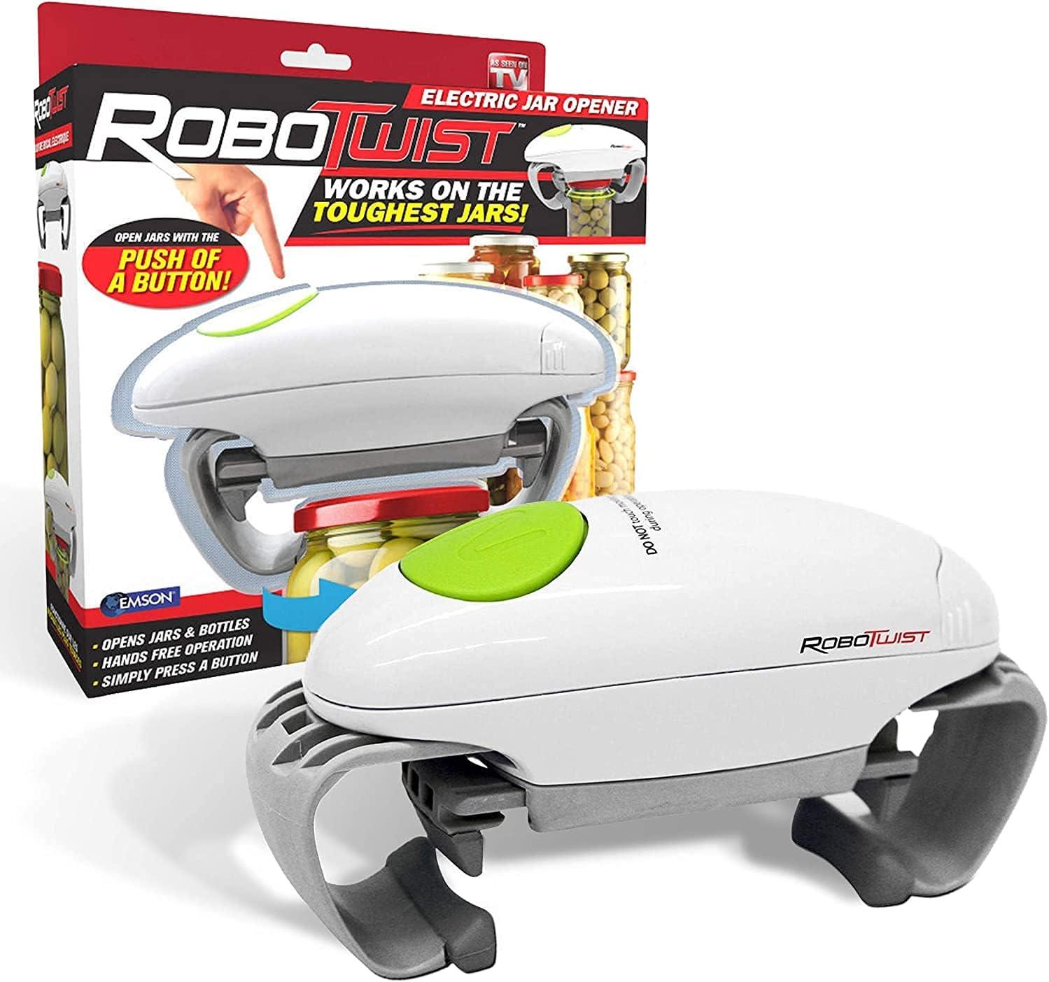 Robo Twist Long-awaited Electric Jar Opener– San Diego Mall Original One The RoboTwist