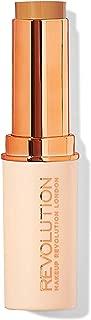 Makeup Revolution Fast Base Stick Foundation F12, Dark Brown, 30g
