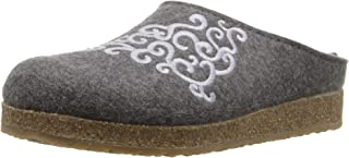 HAFLINGER Women's Wool Symphony Clog Shoes