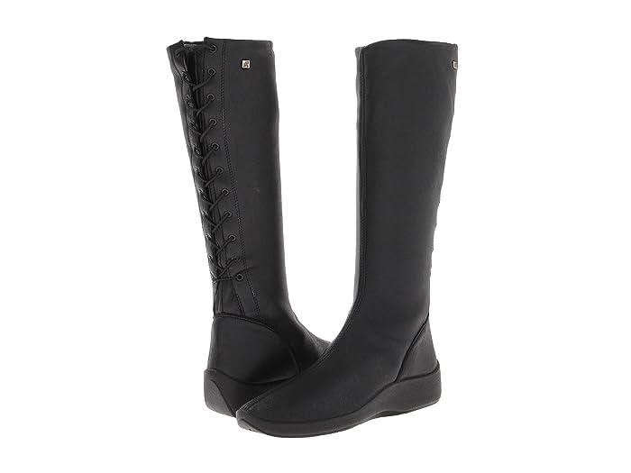 Arcopedico  L31D (Black) Womens Zip Boots