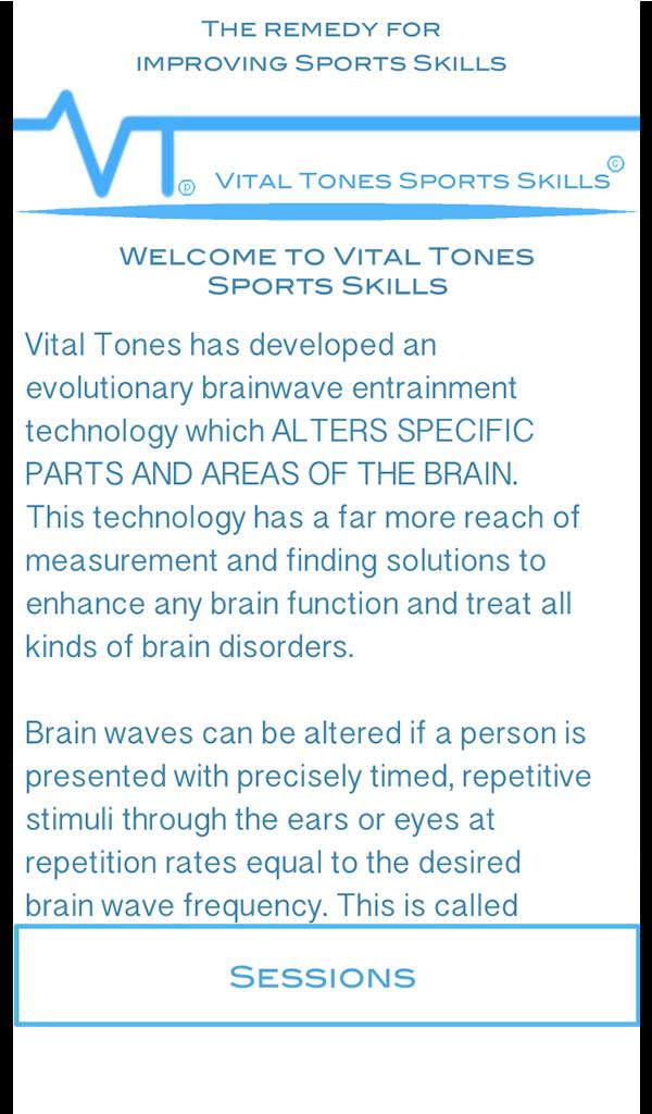 Vital Tones Habilidades Deportivas Pro