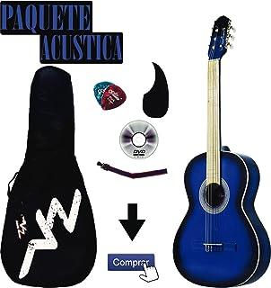 kit Guitarra Acústica Mod.1-A Negra (Azul)