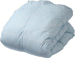 西川 掛け布団 シングル 洗える ふんわり あたたか 防ダニ 抗菌 防臭 ホコリが出にくい ブルー AB00120484B