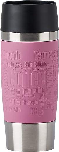 Emsa N20130 Travel Mug Classic Thermo-/Isolierbecher aus Edelstahl   0,36 Liter   4h heiß   8h kalt   BPA-Frei   100% dicht   auslaufsicher  …