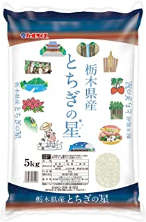 【精米】栃木県産 白米 とちぎの星 5kg 令和元年産