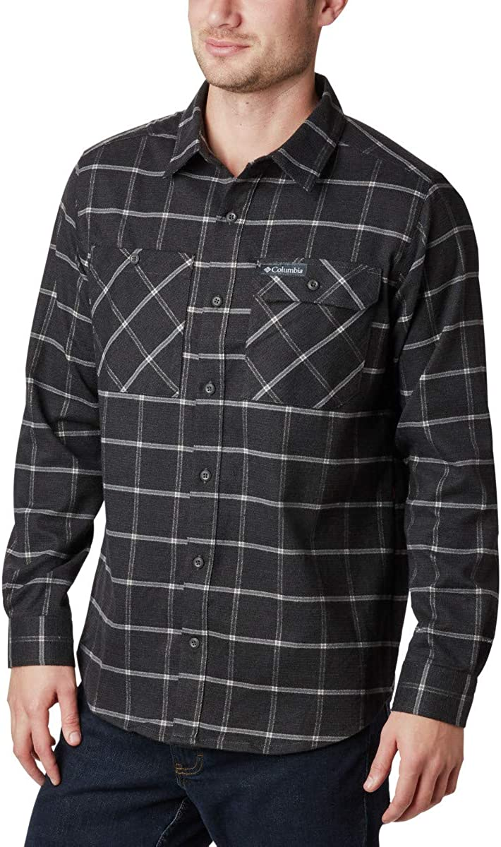 Columbia Men's Extended Outdoor Elements Stretch Flannel