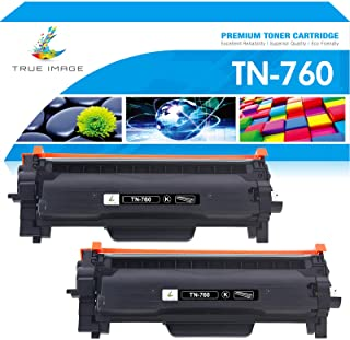 True Image Compatible Toner Cartridge Replacement for Brother TN760 TN730 Brother DCP-L2550dw HL-L2350dw HL-L2395dw MFCL27...
