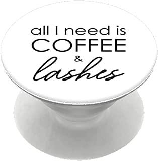 all i need is coffee and lashes