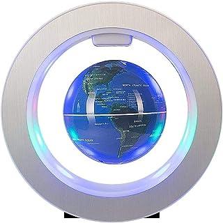 Globes för skrivbordsdekoration Flytande klot med LED-lampor tation Flytande klot Världskarta Perfekt för skrivbordsdekora...