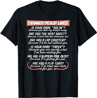 Best swimmer pick up lines t shirt Reviews