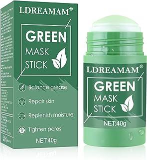 Mascarilla de té verde,mascarilla sólida de Control de Aceite,Mascarilla de limpieza profunda,Se utiliza para la limpieza ...