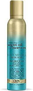 OGX Renewing + Argan Oil of Morocco Voluminous Mousse, 8 Ounce
