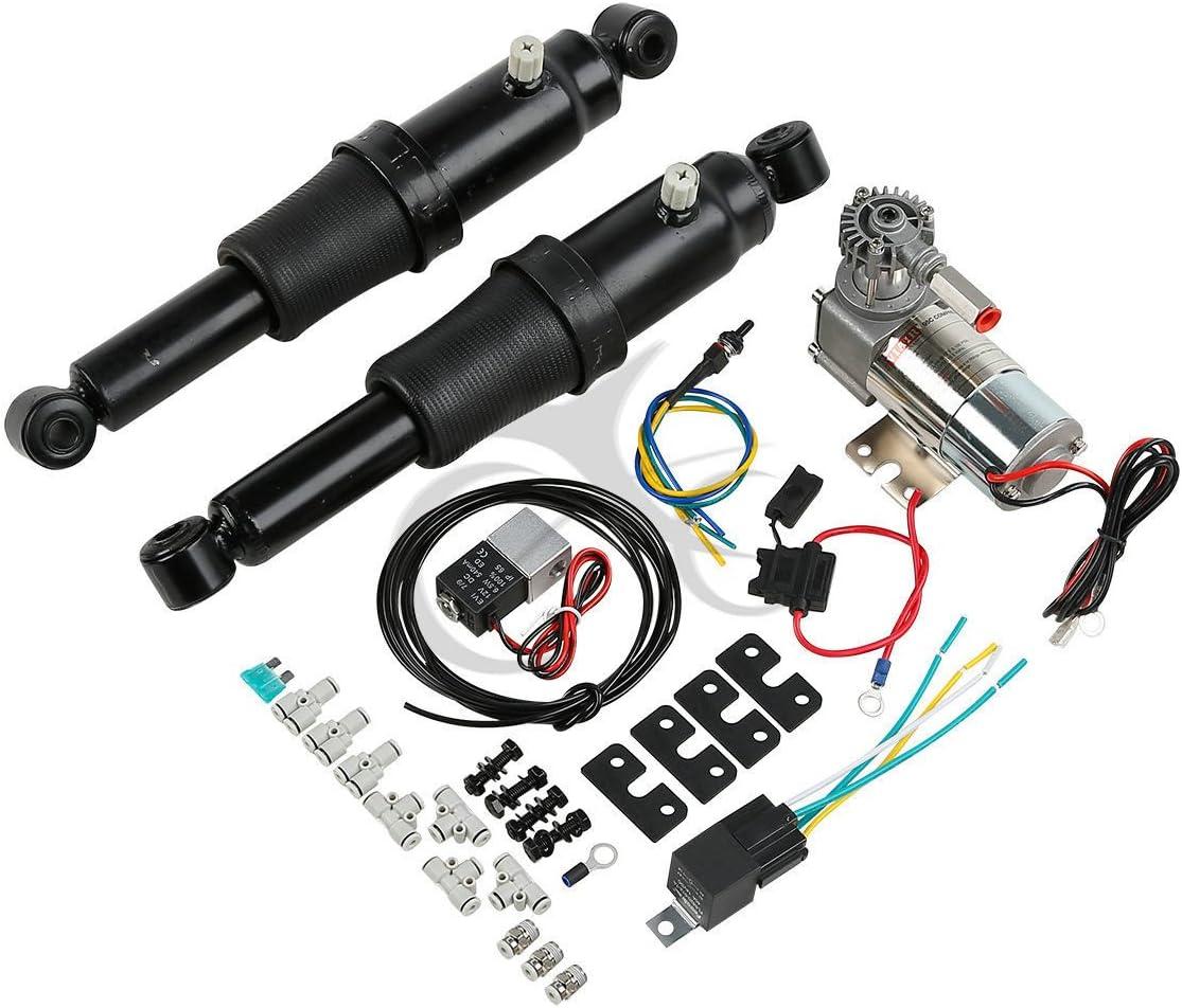 XFMT Award-winning store Air Ride Over item handling Suspension Kit Set For Harley Stre Touring Electra