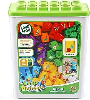 LeapFrog LeapBuilders 81-Piece Jumbo Blocks Box