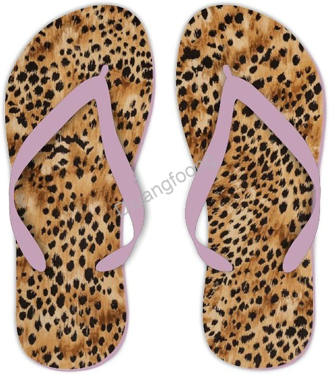 Leopard Flip Flops Beach Pool Very popular Men Thong Sandal For Pretty Recommendation